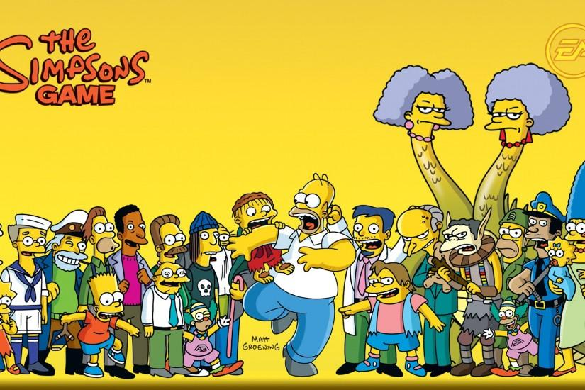 The Simpsons Wallpaper the-simpsons-hd-wallpaper – Wallpapere.org