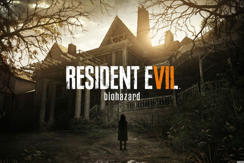 Resident Evil 7 Biohazard HD Wide Wallpaper for 4K UHD Widescreen desktop &  smartphone