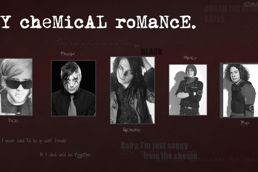 My Chemical Romance Wallpaper 1366X768 ...