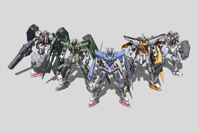 Tags: Anime, Mobile Suit Gundam Wing, Mobile Suit Gundam 00, Wallpaper