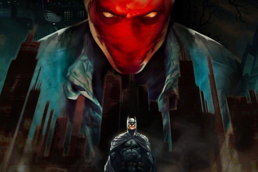 Batman dc comics red hood the dark knight wallpaper