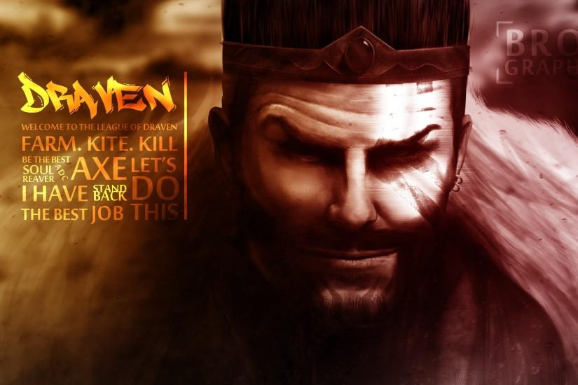 Draven Wallpaper Work by brosgraphic Draven Wallpaper Work by brosgraphic