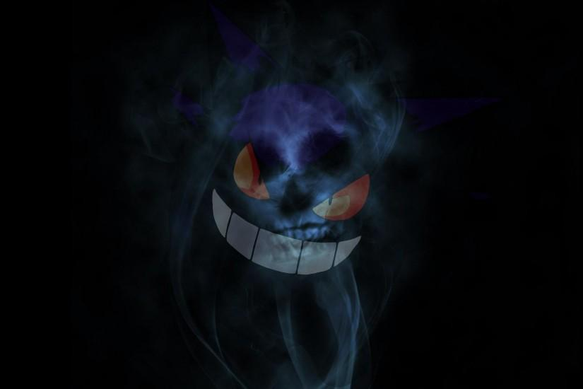 gengar wallpaper 1920x1080 large resolution