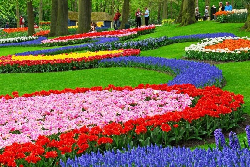 flower garden wallpaper 7 ...