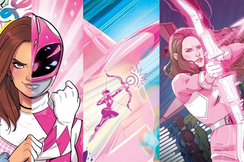 Mighty Morphin Power Rangers: Pink BOOM! Studios Comic #1