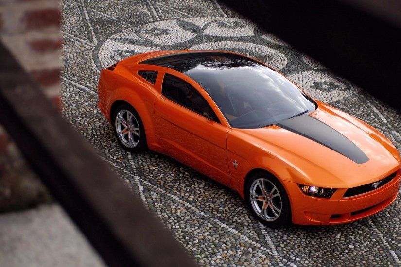 Giugiaro Ford Mustang wallpaper 1920x1080 jpg