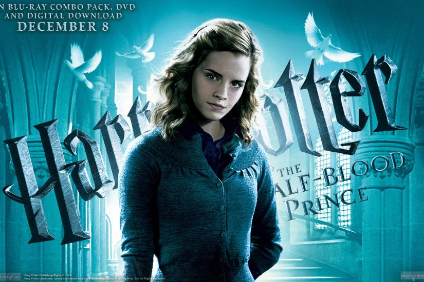 Hermione Granger from Half Blood Prince wallpaper - Click picture for .