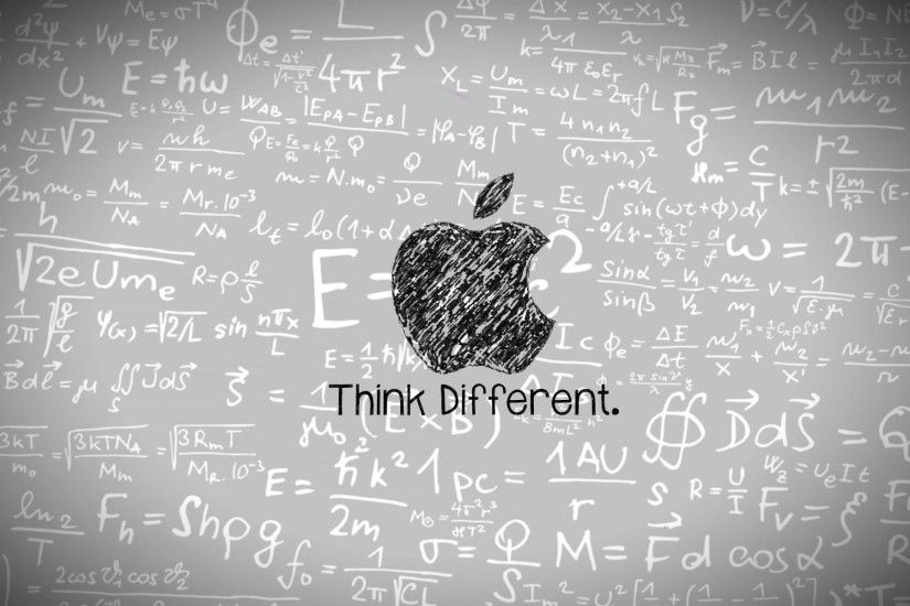 Think Different 862597. UPLOAD. TAGS: Cool Desktop Physics Mac