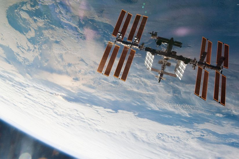 International Space Station [9] wallpaper 2560x1600 jpg