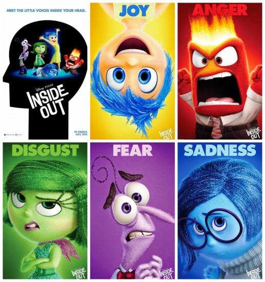 Inside Out Character Wallpaper