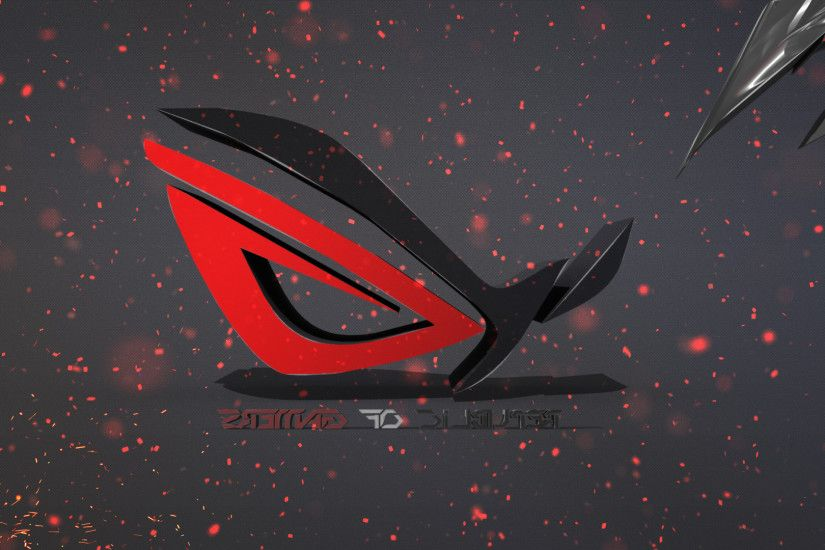 Republic Of Gaming, Republic Of Gamers, ASUS, ASUS ROG, Spike, 3D, Logo,  Red, Black, Photo Manipulation, Adobe Photoshop Wallpapers HD / Desktop and  Mobile ...