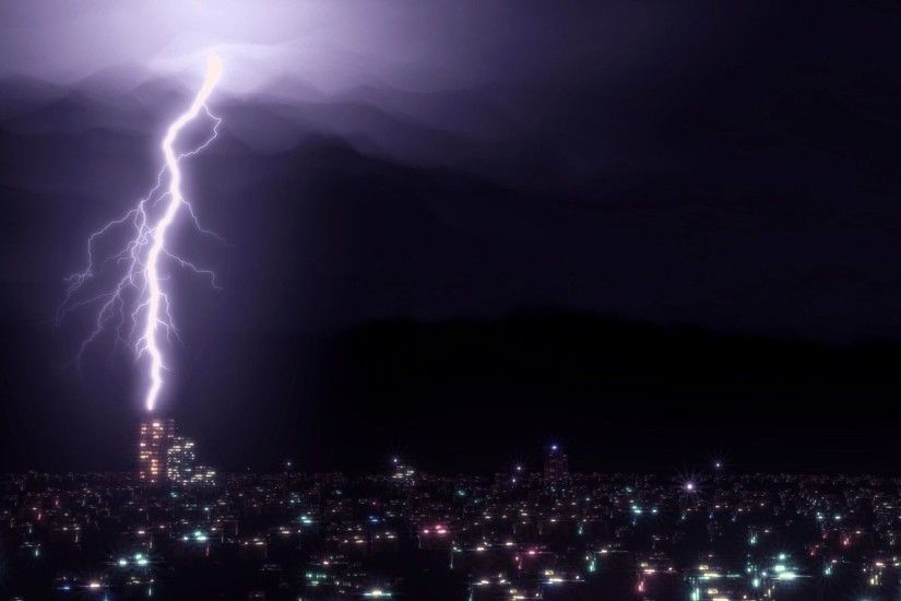 Thunderstorm Tag - Nature Rain Sky Clouds Thunderstorm Lightning Storm  Background Free for HD 16: