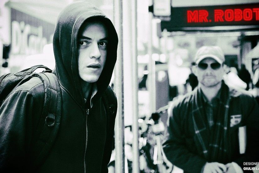 People 2560x1440 Mr. Robot Elliot (Mr. Robot) digital art TV Rami Malek
