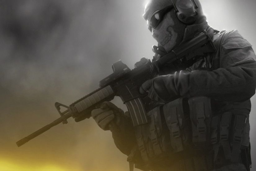 ... Modern Warfare 2 - Ghost by emperaa