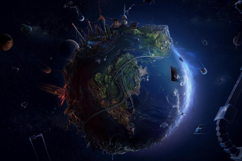 3d earth wallpaper wallpapersafari