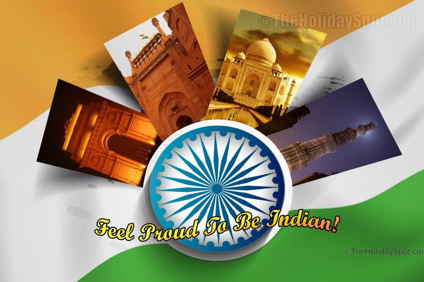 HD Independence Day Wallpaper - Feel Proud to be Indian