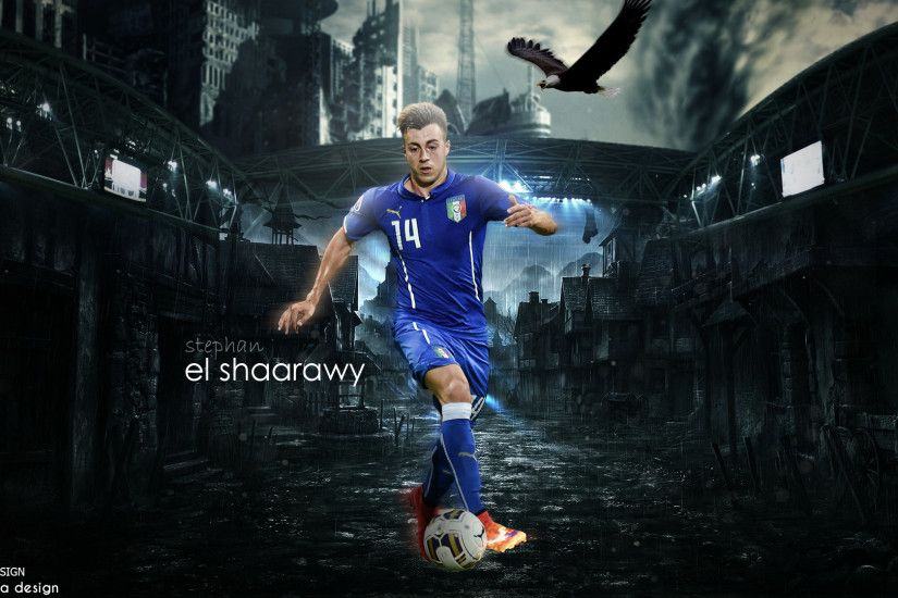 Wallpaper stephan el shaarawy by monta2000 Wallpaper stephan el shaarawy by  monta2000