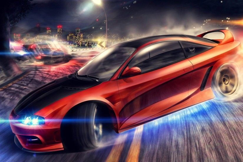 Mitsubishi Eclipse Need For Speed Wallpaper
