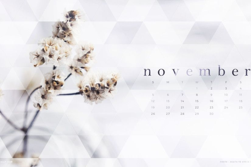 ... Free November Calendar Wallpaper HD Wallpaper