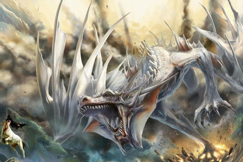 blue eyes white dragon background