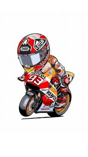 Animated Marc Marquez iPhone Wallpaper - Best iPhone Wallpaper