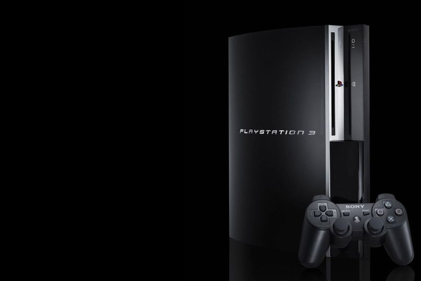 Black wallpapers PS3.