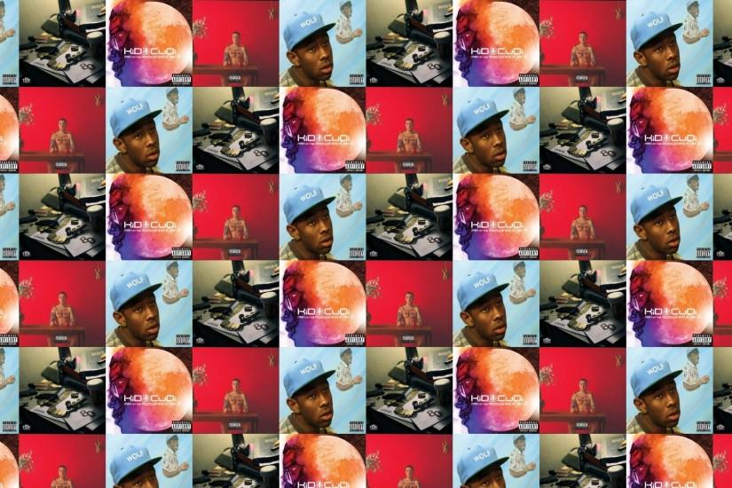 Tyler Creator WOLF Kendrick Lamar Section.80 Kid Cudi Wallpaper Â« Tiled  Desktop Wallpaper