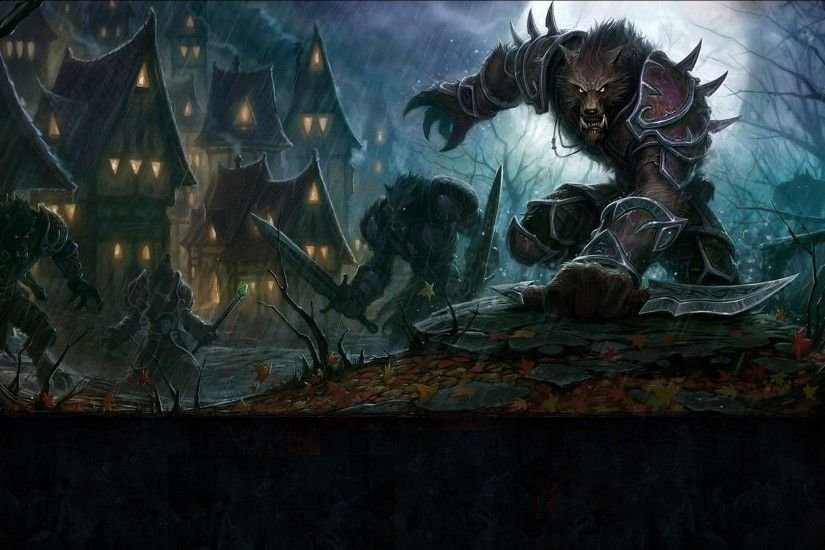 Werewolf HD Wallpapers For Pc