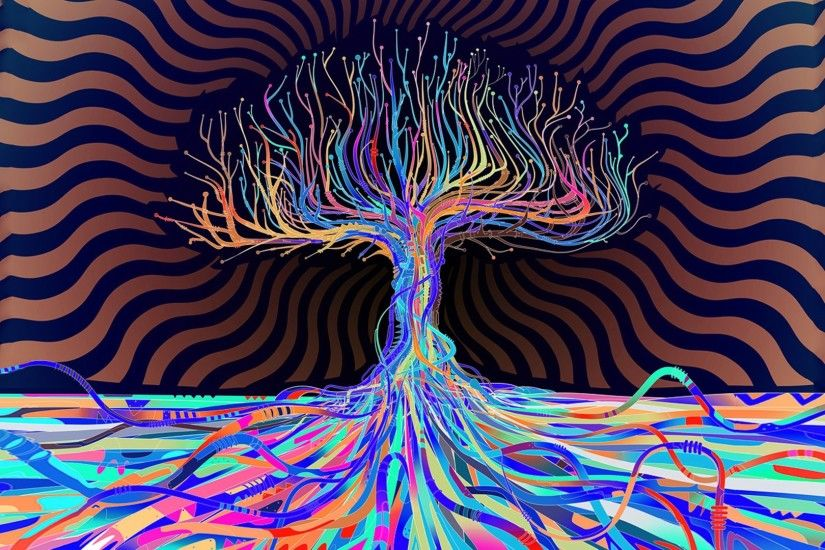 psychedelic hd wallpapers trees desktop wallpapers high definition monitor  download free amazing background photos artwork 1920×1080 Wallpaper HD