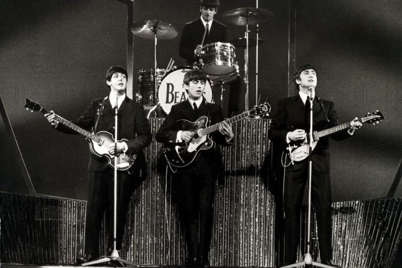 The Beatles Wallpaper 2365x1753 The, Beatles, Monochrome