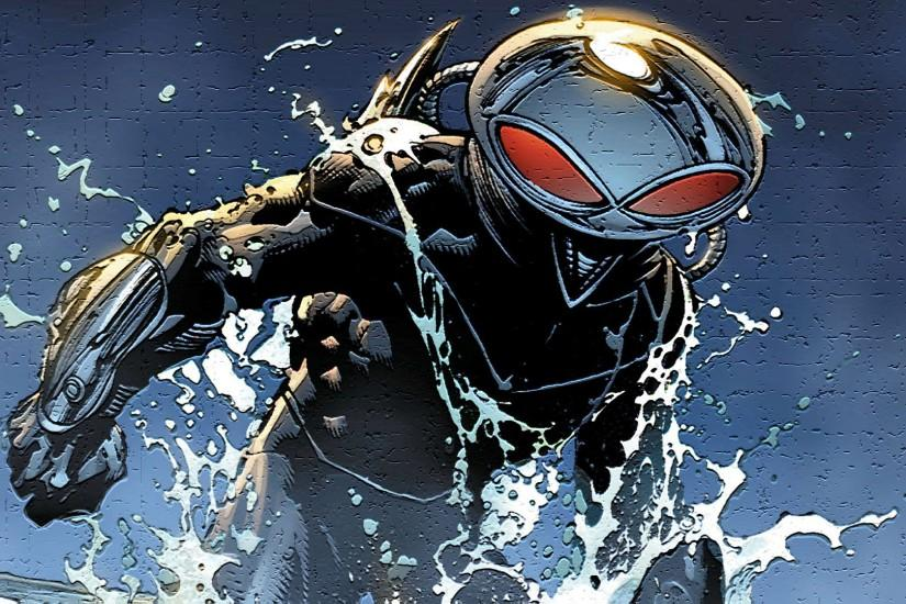 Comics - Aquaman Black Manta Wallpaper