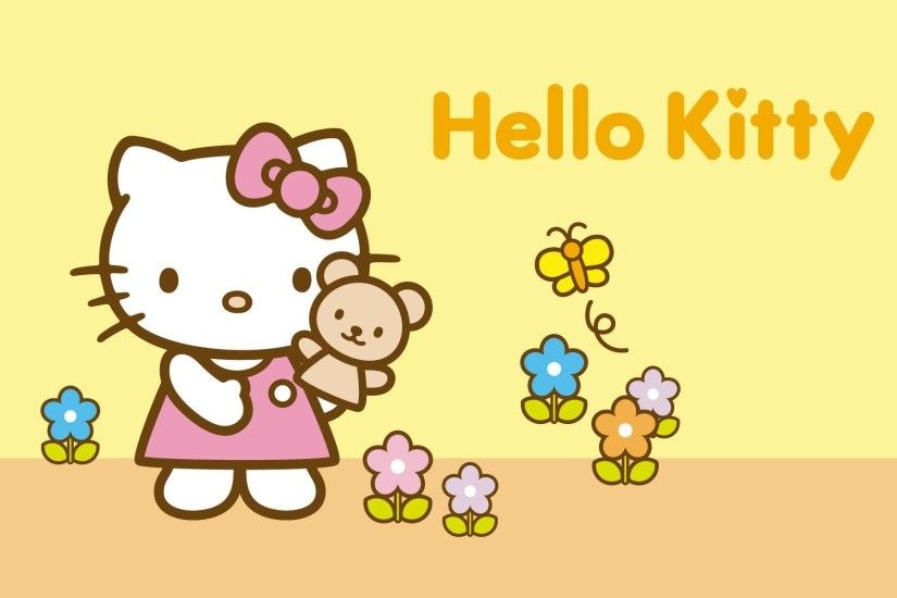 Wallpapers For > Hello Kitty Fall Wallpaper