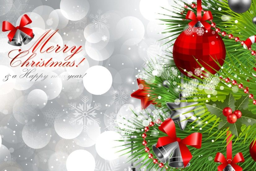 Merry Christmas And Happy New Year Wallpaper Hd Background 9 HD .