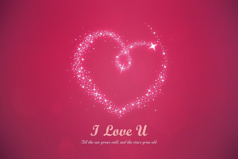 I Love You Wallpapers HD A34