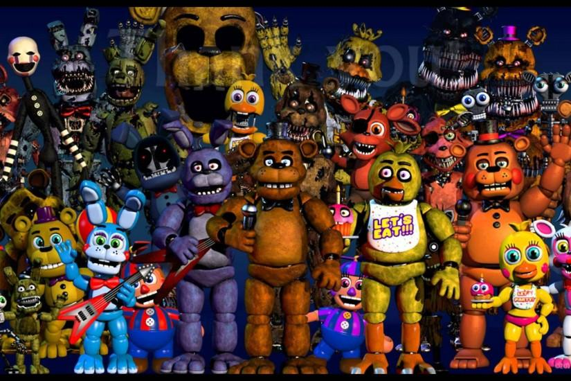 fnaf background 1920x1080 for pc