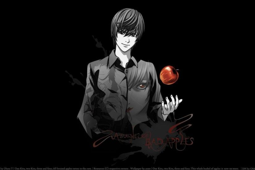 Light Yagami Wallpaper - Death Note Wallpaper (36246923) - Fanpop .