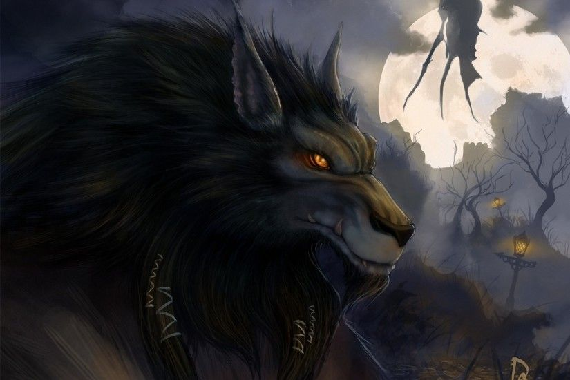Video Game - World Of Warcraft Werewolf Halloween Dark Horror Wallpaper