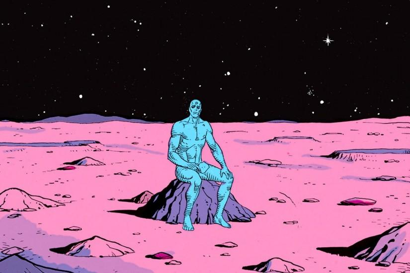 Dr Manhattan Watchmen | HD Walls | Find Wallpapers