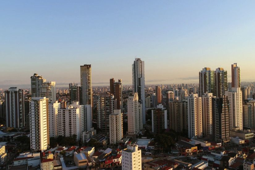 Skyline of buildings in Sao Paulo city, Brazil Stock Video Footage -  VideoBlocks