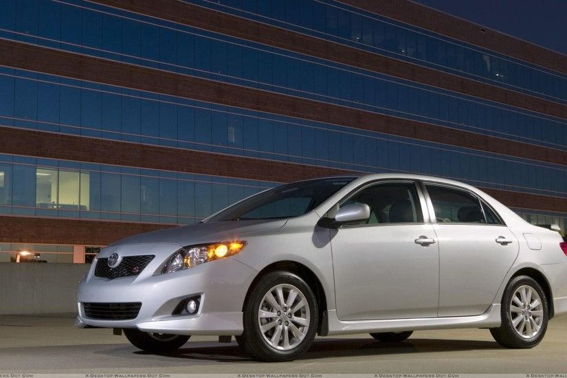 "You are viewing wallpaper titled ""2009 Toyota Corolla ..."
