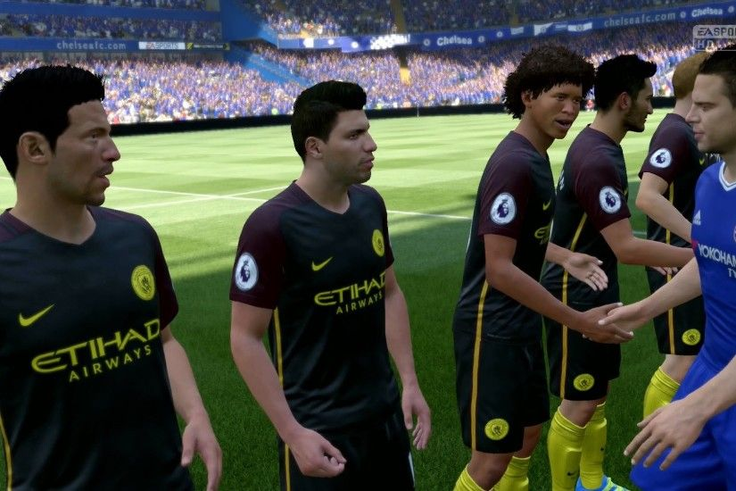 FIFA 17 | Chelsea vs Manchester City - Full Gameplay (PS4/Xbox One) -  YouTube