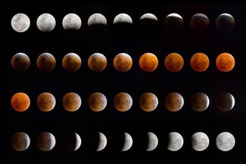 lunar eclipse moon eclipse phase