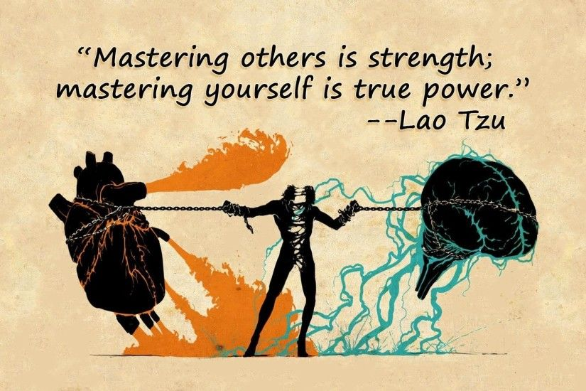 Mastering Yourself Is True Power