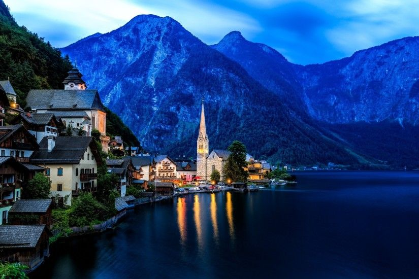 cityscape, City, Hallstatt, Austria, Landscape Wallpapers HD / Desktop and  Mobile Backgrounds