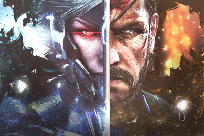 1920x1080 Wallpaper metal gear rising, revengeance, characters, face