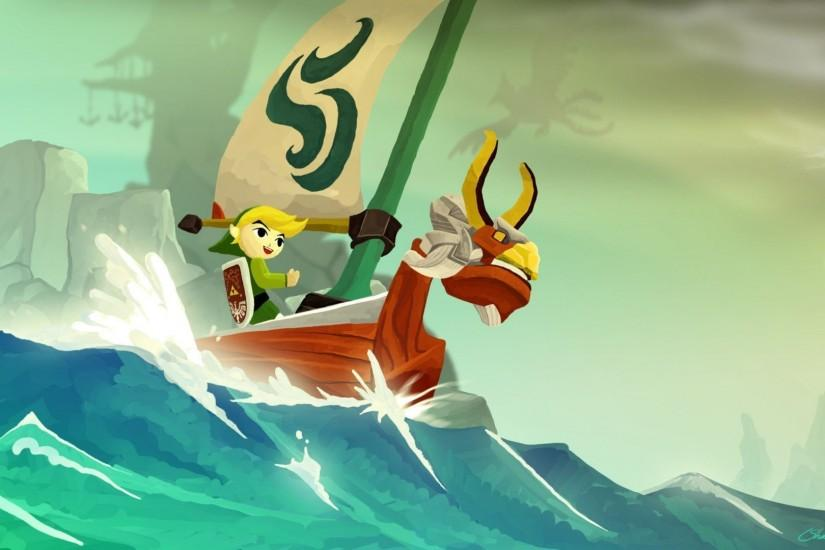 Wallpapers For > Wind Waker Wallpaper