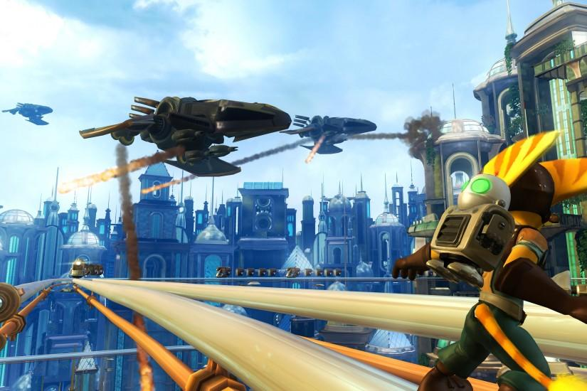 6 Ratchet & Clank Future: Tools Of Destruction HD Wallpapers | Backgrounds  - Wallpaper Abyss