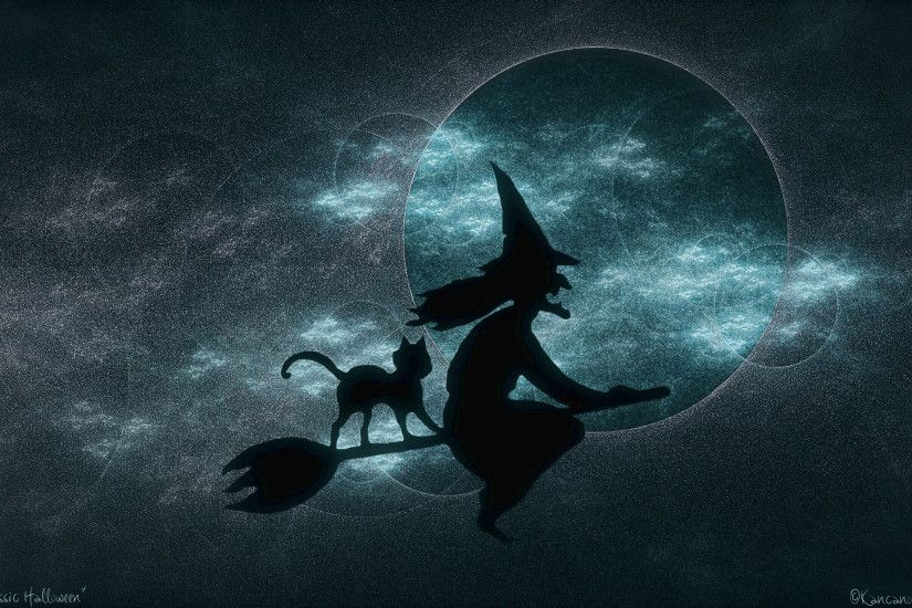halloween_witch-Wallpaper