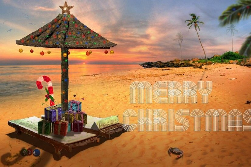 Beach Christmas Wallpaper | Great World