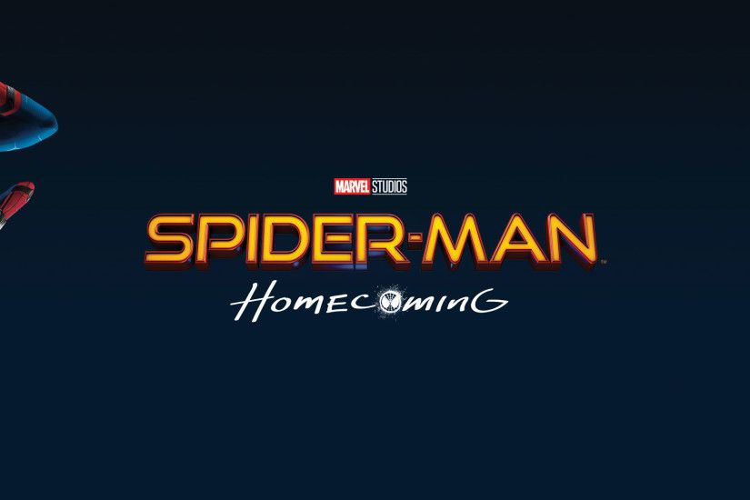 Spider-Man Homecoming Logo Wallpaper
